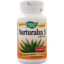 Nature's Way Naturalax 3 with Aloe 100 vcaps