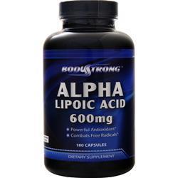 BodyStrong Alpha Lipoic Acid (600mg) 180 caps