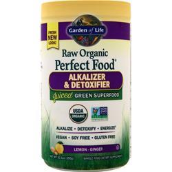 Garden Of Life Raw Organic Perfect Food Alkalizer & Detoxifier Lemon-Ginger 285 grams