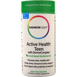Rainbow Light Active Health Teen Multivitamin (Food-Based) 90 tabs