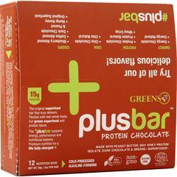 Greens Plus Plus Bar Protein Chocolate 12 bars