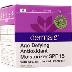 Derma-E Age-Defying Moisturizer SPF 15 with Astaxanthin and Green Tea 2 oz