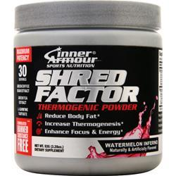 Inner Armour Shred Factor - Thermogenic Powder Watermelon Inferno 93 grams