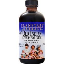Planetary Formulas Old Indian Syrup For Kids 8 fl.oz