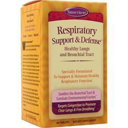 Nature's Secret Respiratory Support & Defense 60 tabs