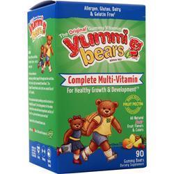 Yummi Bears Vegetarian Multi-Vitamin and Mineral Sour 90 bears