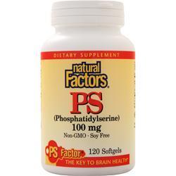 Natural Factors PS (100mg) 120 sgels