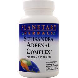 Planetary Formulas Schisandra Adrenal Complex (710mg) 120 tabs