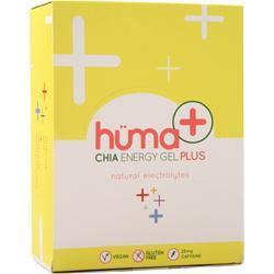 Huma Products Chia Energy Gel Plus Strawberry Lemonade 24 pckts
