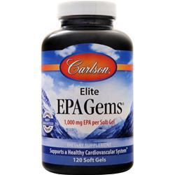 Carlson EPA Gems - Fish Oil Concentrate 120 sgels