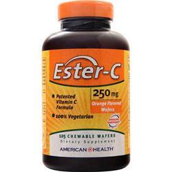 American Health Ester-C (250mg) Chewable Orange 125 wafrs