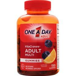 Bayer Healthcare ONE A DAY VitaCraves Gummies Berry, Cherry, Orange 150 gummy