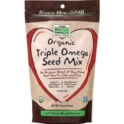 Now Organic Triple Omega Seed Mix 12 oz