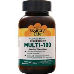 Country Life Multi-100 (Time Release) 90 tabs