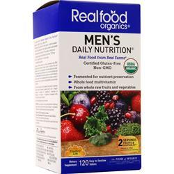 Country Life Real Food Organics - Men's Daily Nutrition 120 tabs