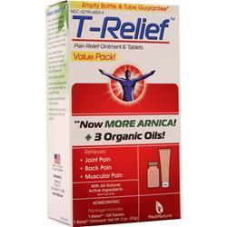 Heel T-Relief (Arnica +12) Value Pack - Ointment & Tablets 1 pck