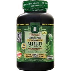 Emerald Laboratories CoEnzymated High Potency Multi Vit-A-Min 120 vcaps
