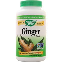 Nature's Way Ginger Root 240 vcaps