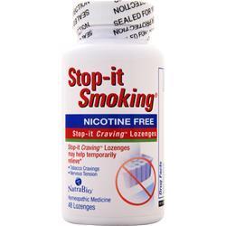 Natrabio Stop-It Smoking Nicotine Free 48 lzngs