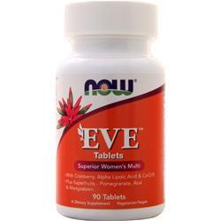 Now Eve - Women's Multivitamin 90 tabs