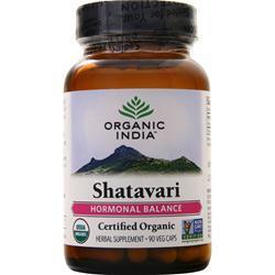 Organic India Shatavari 90 vcaps