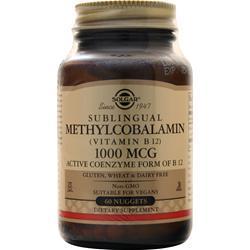 Solgar Sublingual Methylcobalamin (Vitamin B12) 1000 Mcg 60 tabs
