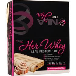 NLA For Her Her Whey - Lean Protein Bar Maple Cinnamon Roll 12 bars