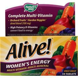 Nature's Way Alive Women's Energy Multivitamin-Multimineral 50 tabs