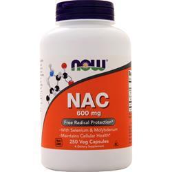 Now NAC w/ Selenium & Molybdenum 250 vcaps