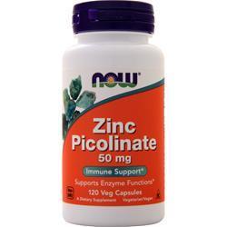 Now Zinc Picolinate (50mg) 120 vcaps