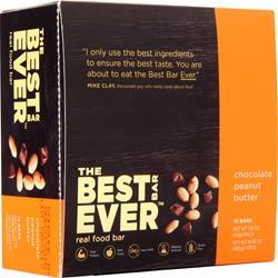 The Best Bar Ever Real Food Bar Chocolate Peanut Butter 12 bars