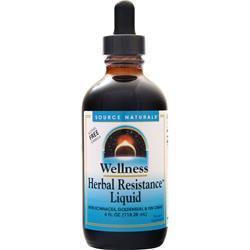 Source Naturals Wellness Herbal Resistance Liquid 4 fl.oz