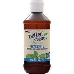 Now Better Stevia Glycerite - Zero Calorie Sweetener (Alcohol-Free) 8 fl.oz