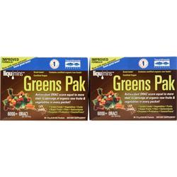 Trace Minerals Research Greens Pak (Buy one Get one Free) Chocolate 60 pckts