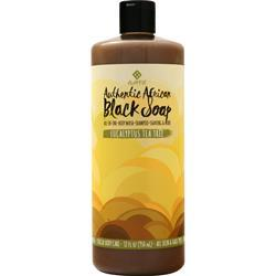 Alaffia African Black Soap Eucalyptus Tea Tree 32 fl.oz