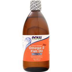 Now Omega-3 Fish Oil Lemon Flavored 16.9 fl.oz