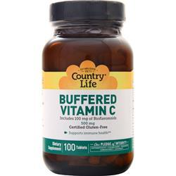 Country Life Buffered Vitamin C (500mg) 100 tabs