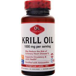 Olympian Labs Krill Oil 60 sgels