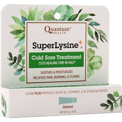 Quantum Super Lysine Plus Cold Sore Treatment Ointment 21 grams