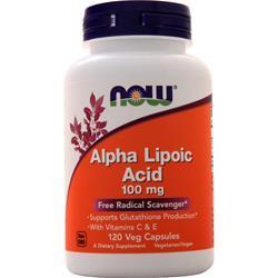 Now Alpha Lipoic Acid (100mg) 120 vcaps