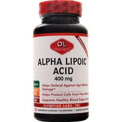 Olympian Labs Alpha Lipoic Acid (400mg) 60 caps