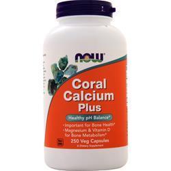 Now Coral Calcium Plus 250 vcaps