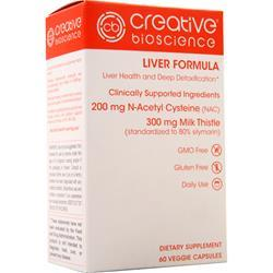 Creative Bioscience Liver Formula 60 vcaps
