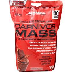 MuscleMeds Carnivor Mass Chocolate Fudge 10 lbs