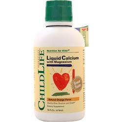 Childlife Liquid Calcium with Magnesium Orange 16 fl.oz