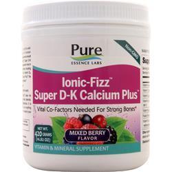 Pure Essence Labs Ionic-Fizz Super D-K Calcium Plus Mixed Berry 420 grams