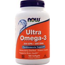 Now Ultra Omega-3 180 sgels