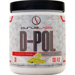 Purus Labs D-Pol Powder Fresh Squeezed Lemonade 138 grams