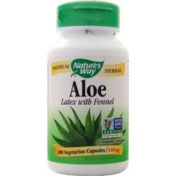 Nature's Way Aloe - Latex with Fennel 100 vcaps