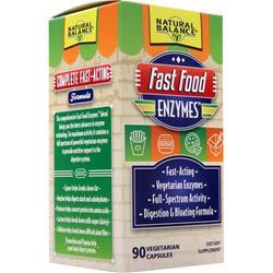 Natural Balance Fast Food Enzymes 90 vcaps